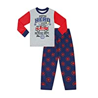 Fireman Pyjamas Night time Hero Blue Sam Pyjamas