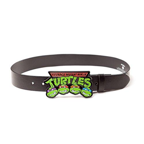 Ninja Turtles - Buckle Strap Logo - Maat L (Zwart)