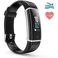 Montre Connectée, Podometre Bracelet Etanche IP68, Fitness Tracker d'Activité Connecté GPS Portable avec Cardiofréquencemètre pour Femme Homme- Smartphone Samsung Huawei iPhone Xiaomi
