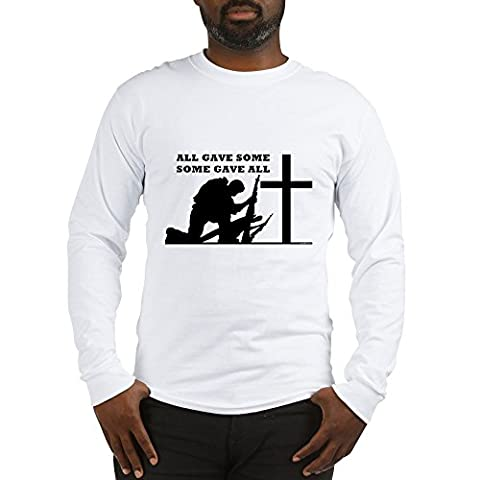 CafePress - Some Gave All - Unisex Cotton Long Sleeve