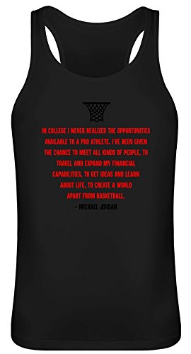 Im College Habe ich die Chancen nie realisiert - In College I Never Realized The Opportunities Tank Top T-Shirt Jersey for Men & Women 100% Soft Cotton Unisex Clothing Medium - College Womens Tank Top