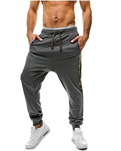 mens-loose-bodybuilding-workout-gym-running-jogger-pantsdark-greyxl