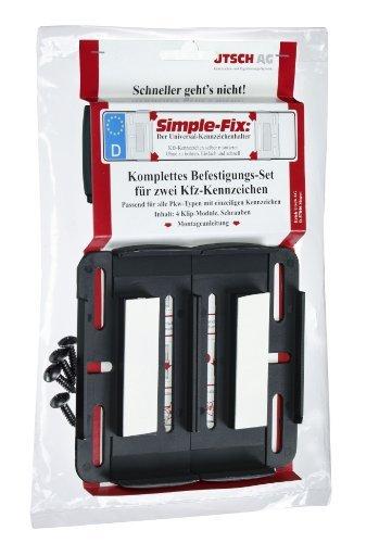 Utsch 0188100 Kennzeichenträger Simple-Fix - Auto-rahmen