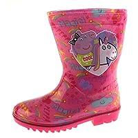 Peppa Pig Girls Glitter Wellington Boots