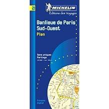 Banlieue de Paris. Banlieue Sud-Ouest, Plan, 1/15 000
