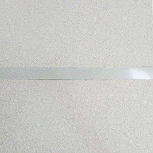 Stahlblech Magnet-Wandleiste als Haftgrund für Magnete I 2,5 Meter Magnetleiste selbstklebend, zuschneidbar I mag_141