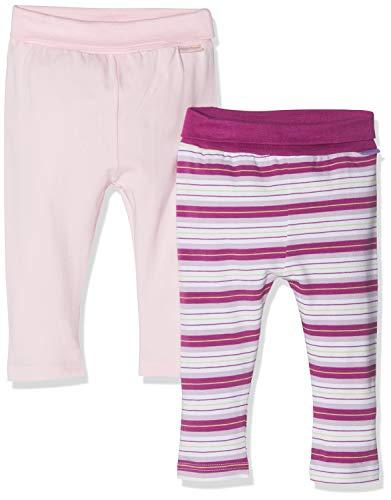 Playshoes Unisex Baby Lila Gestreift Und Rosa Im 2er Pack Leggings, Violett (Sortiert 999), 74 (Herstellergröße: 74/80) (erPack 2 (Strumpfhosen Lila-rosa Gestreiften)