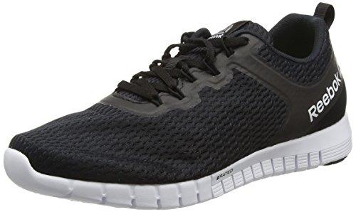 415HB YAwqL - Reebok Men Zquick Lite Multisport Outdoor Shoes, Black (Black/Coal/White), 8.5 UK 42 1/2 EU sports best price Review uk