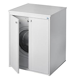 Negrari Coprilavatrice 5012p tragbar aus Kunstharz freistehend Weiß 70x 60x 94cm