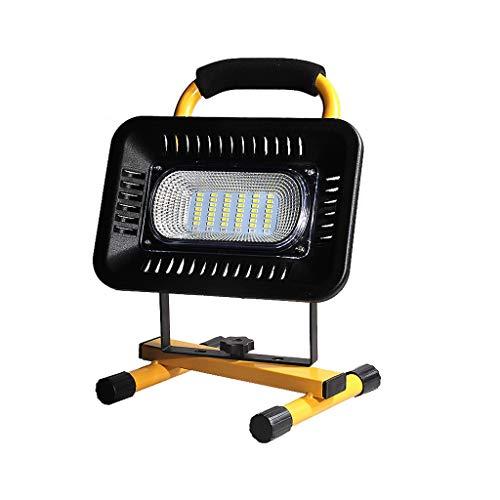 TXTC Wiederaufladbare LED-Lichtstrahler Außen Freienzelt-Camping Laterne Tragbaren Notfallleuchte Mit Leistungsanzeige (Size : 400W(8-16H))