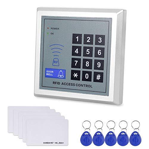 NN99 RFID Tastatur Access Control Tastatur Türöffner System Kit 125 kHz Kartenleser Wiegand26 + 10 stücke Token Key Karten -