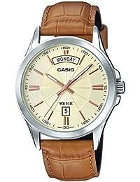 Casio Enticer Men's Analog Gold Dial Men's Watch - MTP-1381L-9AVDF (A1133)