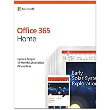 Microsoft Office 365 Home | up to 5 users | 1 year | PC/Mac | download