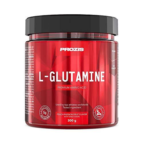 Prozis L-glutamina Componente Fundamental de las Proteínas, Melocotón y Fruta de la...
