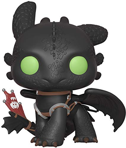 Funko- Pop: How To Train Your Dragon 3: Toothless Trainer, Multicolore,...
