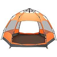 Kuppelzelte LIUSIYU 4 Personen Zelt 5-8 Season Wasserdicht Winddicht Ultralight Camping Doppelschicht Geschwindigkeit /öffnen automatische Outdoor