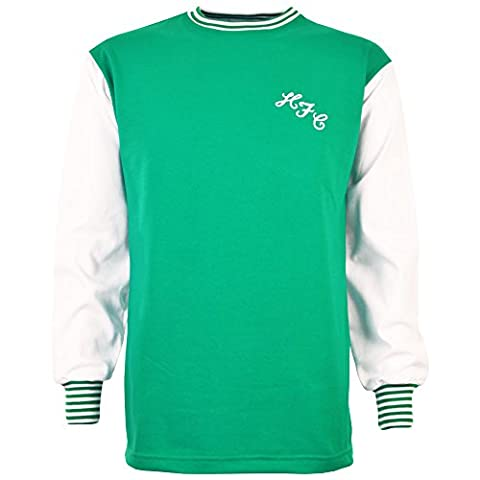 TOFFS Hibernian 1965-1972 Retro Football Shirt (X LARGE)