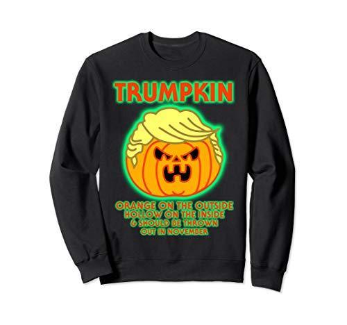 Donald Trumpkin Kostüm - Halloween Trumpkin Funny Donald Trump Kürbis Politische Meme Sweatshirt