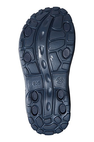 Mountain Warehouse Chaussures de Plage enfant Garçon Néoprène Semelle Phylon Confortable Velcro Sand Bleu Marine