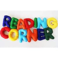 Reading Corner Banner, Kids Room Decor, Classroom Display, Classroom Decor, Reading Corner Wall Hanging, Rainbow Classroom