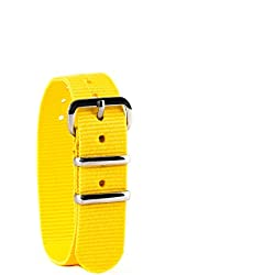 EasyRead Time Teacher Children's Watch Strap - Yellow