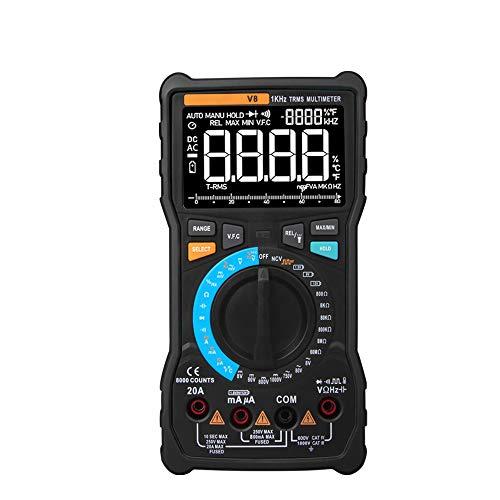 Multimetro Il multimetro Digitale V8 Professional 8000 Conta Un Vero multimetro multimetro analogico a Transistor RMS Transistor Tester XXYHYQHJD