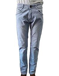 Style Rocks Men's Casual Cotton Regular Fit Jeans (SRJ-07_Blue)