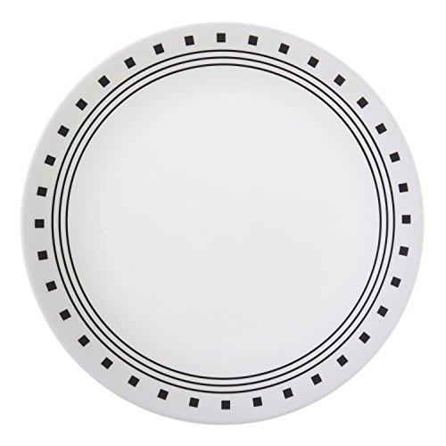 Corelle Livingware City Block 8-1/2 Luncheon Plate (Set of 12) by Corelle Coordinates Corelle City-block