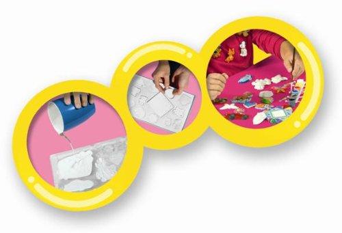 Imagen 4 de SES creative Set artístico para hacer broches, multicolor (01151)