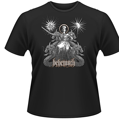 Behemoth - T-Shirt Evangelion (in M) - Boxen-womens Dunklen T-shirt