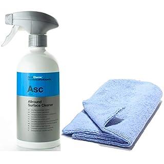 Koch Chemie Asc Allround Surface Cleaner 500 ml Allzweckreiniger Set inkl. Master Carline Microfasertuch