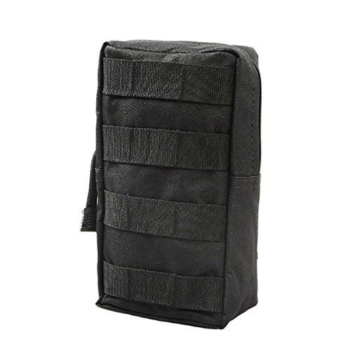 Shiningup Sport Utility Weste Taille Beutel Tasche Wasit Pack Ausrüstung Für Outdoor Jagd Laufen Camping Schwarz