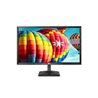 LG 24MK430H-B 24 inch Class Full HD IPS LED Monitor, Black