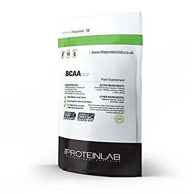 BCAA -100 X Tablets - 2000mg Per Serving - Branch Chain Amino Acid - Protein Synthesis - Muscle Building and Recovery