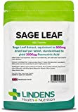 Lindens - Sage (Sage Blatt 500 mg) Tabletten - 100 Stuck