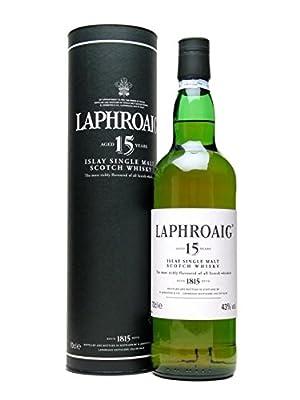 Laphroaig 15 Year Old Single Malt Scotch Whisky (12 x 70cl Bottles)