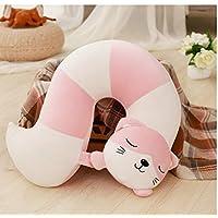 BBSJX Super Cute Plush Toys Animal Tail U Pillow Home Decoration Nap Pillow For Children 42Cm