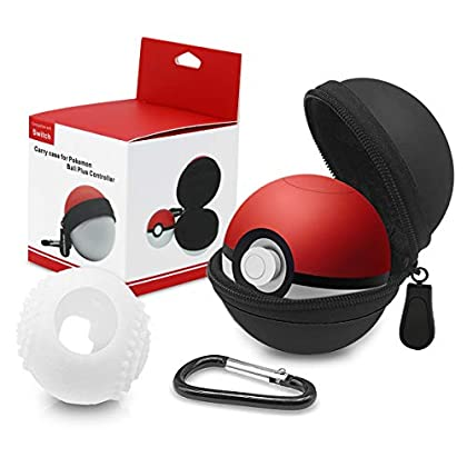 Funda para Pokeball Plus Nintendo Switch Kimood...