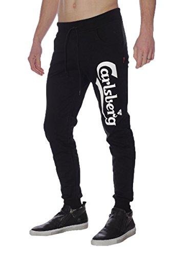 carlsberg-pantaloni-uomo-con-stampa-regular-fit-cbu2502-m-nero