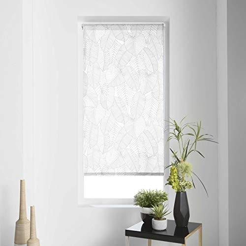Estor Enrollable IMP. Japonés Polyester Batik, Blanco, 60 x 180 cm