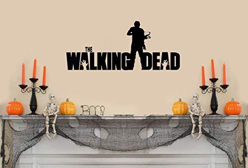 The Walking Dead mit Daryl und Armbrust Wandtattoo