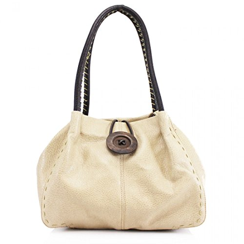 Craze london, Borsa a spalla donna Beige