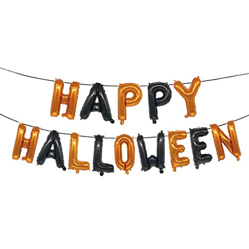 Myspace 2019 Neueste Dekoration für Halloween Hotel Mall Dekoration Happy Halloween Ballon Set (Bis Ballons Kostüm)