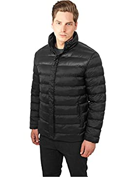 MAG Urban Classics tb864Block Bubble Jacket Chaqueta Hombre Streetwear Winter Jacken, Small