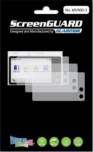 3x Samsung MV900Multiview Kamera Premium Clear LCD displayschutzfolie Cover Guard Shield Schutzfolie Kit., exakte Passform, kein Schneiden. (3Stücke von GUARMOR) - Carry Case Lcd Guard