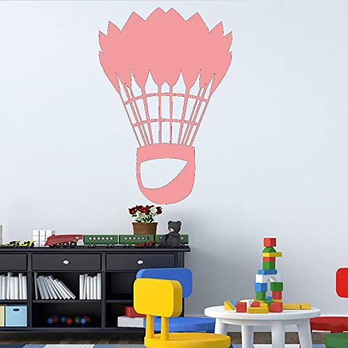 Ajcwhml Klassische Badminton Kunst wandaufkleber Dekoration Wohnzimmer wanddekoration Aufkleber...