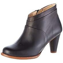 Neosens Women's S961 Restored Skin Beba Ankle Boots, Black (Ebony Ebony), 4 UK