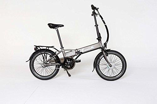 Enik E-Bike Klapprad Snap-in 20, 20 Zoll, 3 Gang, Frontmotor, 317 Wh 50,8 cm (20 Zoll)