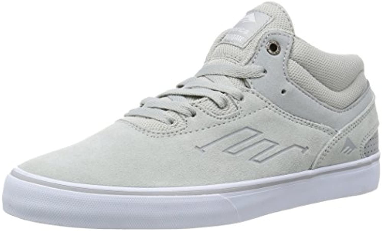 Emerica Skateboard Shoes Westgate Mid Vulc Gray/White Size 12  -