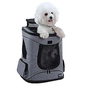 Petsfit Stoff Faltbarer Haustiertragetasche für Hunde und Katzen, Rucksack, 43cm x 32cm x 29cm